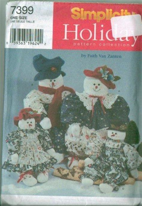 sewing patterns christmas crafts oop simplicity sewing pattern christmas decorations xmas