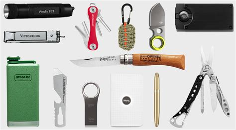 every day carry items everyday carry 15 edc essentials 20 hiconsumption