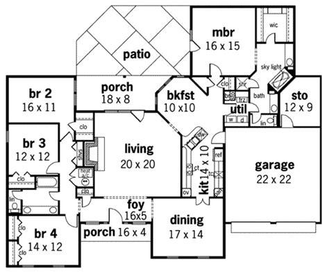 house plan 45 8 62 4 european style house plan 4 beds 2 baths 2396 sq ft plan