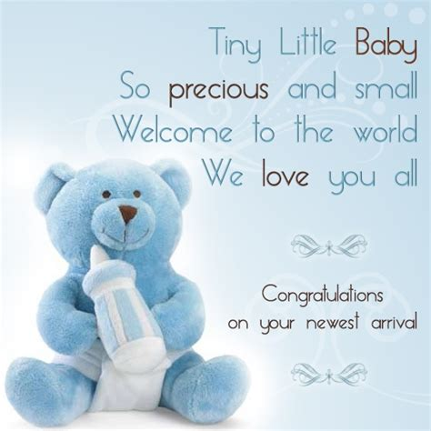 Baby Shower Wishes For Baby Boy by Baby Boy Congratulations Quotes Quotesgram