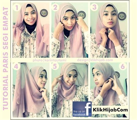 tutorial hijab paris with headband trik hijab tutorial hijab paris simpel gradasi