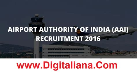 Airport Authority Of India Recruitment 2014 For Mba by Airport Authority Of India Aai Recruitment 2016 Pay