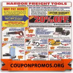 How can you save money with printable harbour freight coupons 10