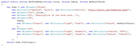 c xml tutorial linq fluent xml linq exploring the limits of c syntax