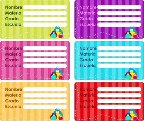 imagenes de libretas escolares etiquetas para cuadernos etiquetas escolares