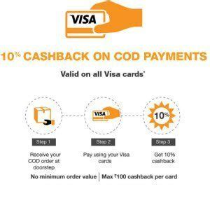 Using A Visa Gift Card On Amazon - amazon order cod get 10 cashback using visa card