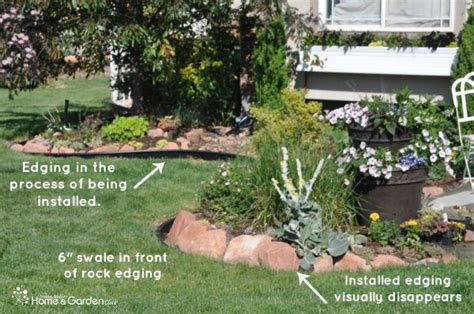 Install Plastic Landscape Edging How To Install Plastic Landscape Edging Landscaping