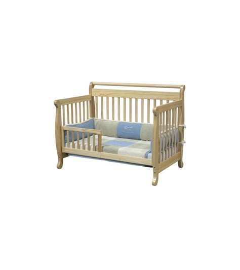 Davinci Emily 4 In 1 Convertible Crib Natural Davinci Emily 4 In 1 Convertible Crib With Toddler Rail