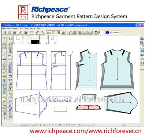 wallpaper pattern design software richpeace garment cad system buy garment garment hanging