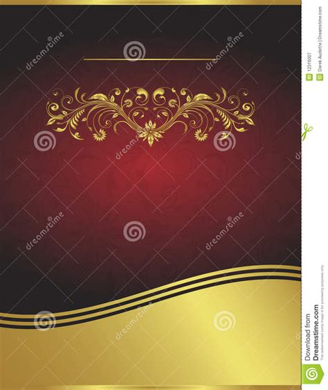 royalty free templates vector and gold background template stock
