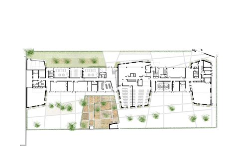 nursery school floor plan gallery of eco nursery and primary school jean fran 231 ois schmit 8