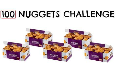 100 chicken nugget challenge 100 nuggets challenge