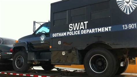 victorville truck rises gotham swat truck spotted in