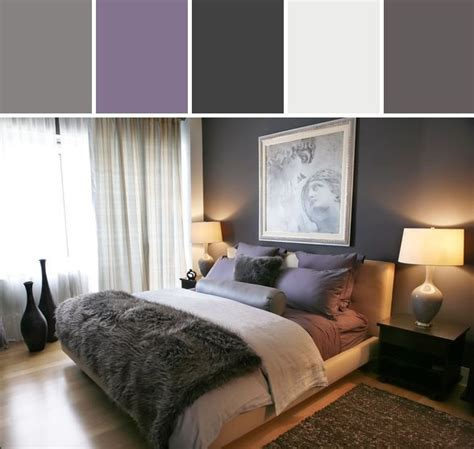 Gray And Purple Bedroom Ideas Purple And Gray Bedroom Designed By Allmodern Via Stylyze For The Home Pinterest Grey The
