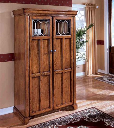 double door armoire home office armoires to save more spaces