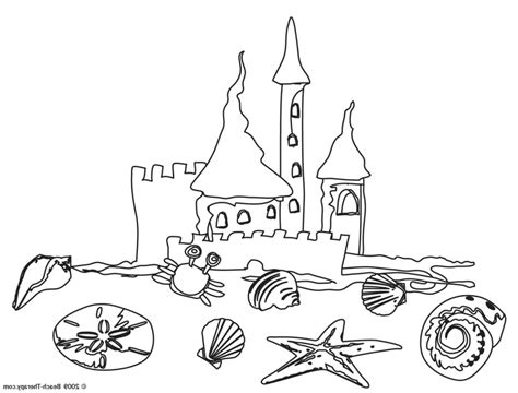 free peppa pig at the beach coloring pages