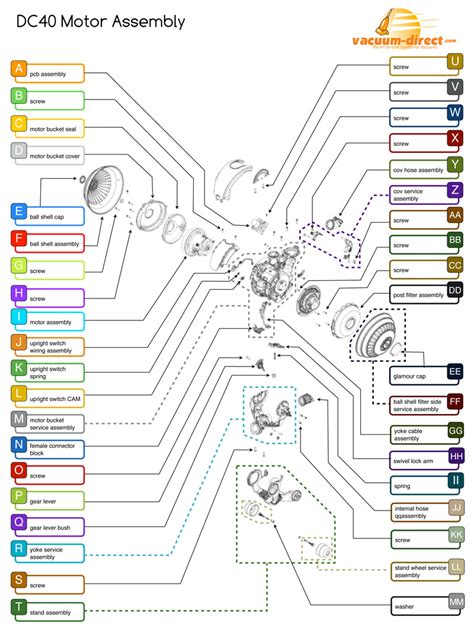 diagram and parts list free wiring schematic