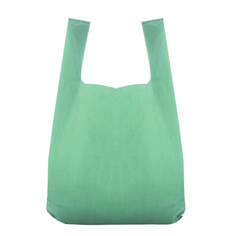 carrier bag recycled green vest plastic bags branded bags carrier bag shop