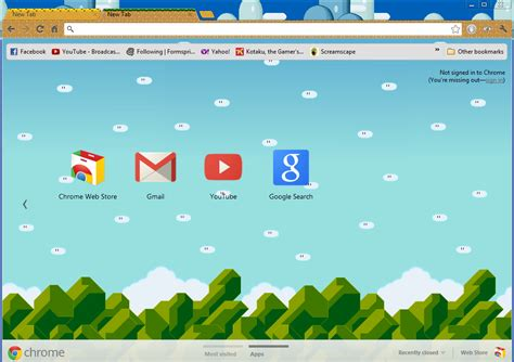 google themes and games google chrome games mario fandifavi com