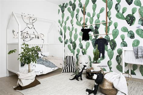 black and white nursery wallpaper 12 nursery trends for 2017 project nursery