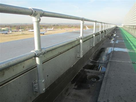 Galvanized Handrail by Galvanized Railings Modular Railing Systems
