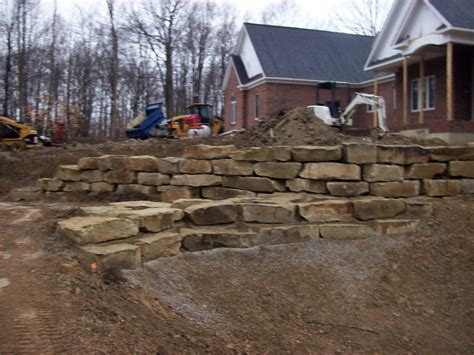 stone retaining wall stone seawalls outcropping stone