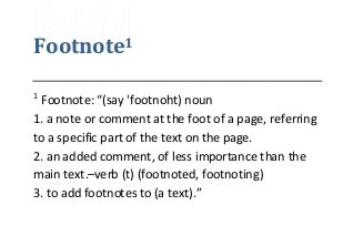 footnote format book footnotes sneakily important stumbling through the past