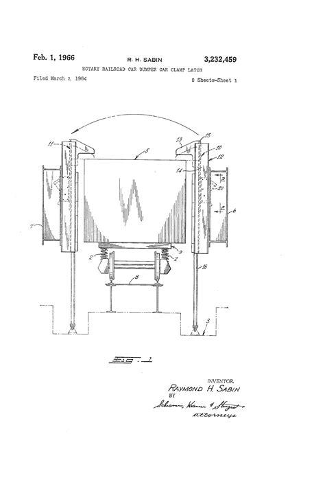 Mcdowell Wellman Rotary Car Dumper patent us3232459 rotary railroad car dumper car cl