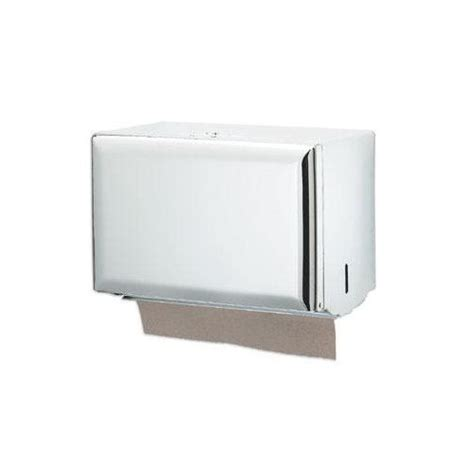 Single Fold Paper Towel Dispenser - san jamar paper towel dispenser single fold white