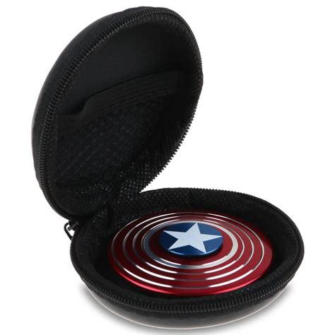 Fidget Spinner Dg Led captain america fidget spinner shield edc focus