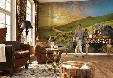national geographic wall murals wall mural quot mountain morning quot from komar national geographic