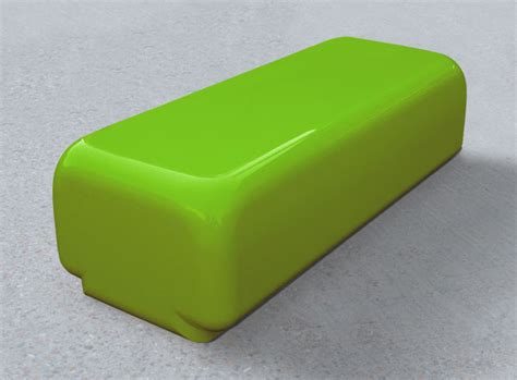 lime green bench morph bench modular seating modern seating geomet