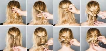 Peinados f 225 ciles para cabello corto recogidos y semi recogidos