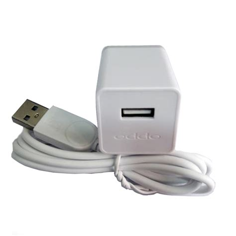 Oppo R9 Connector Original deal original oppo usb travel charger adapter with cable white from category chargers insasta