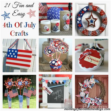 easy fourth of july crafts for 21 easy 4th of july crafts