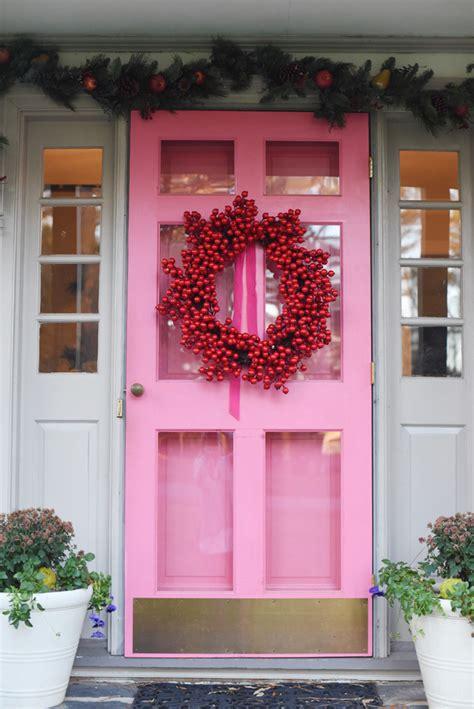 Pink Front Door Pink Door House Tour