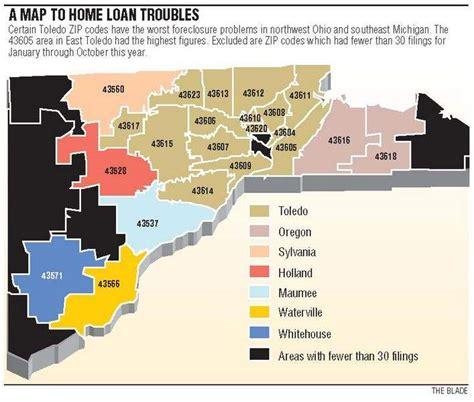 zip code map toledo ohio job work hour cuts take toll in toledo blue collar zip