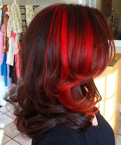 different mahogany hair color styles 40 two tone hair styles