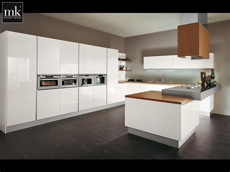 Modern Kitchen Cabinet Designs Photo White Painting Modern Kitchen Cabinet Design Decosee