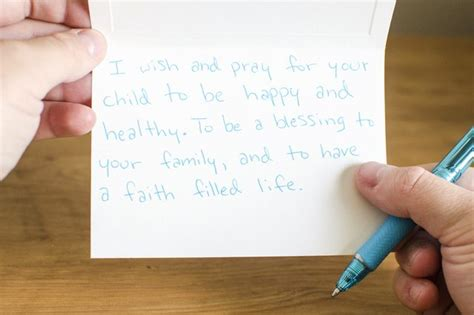 Things To Write In A Baby Shower Card by Christian Ideas To Write In A Baby Shower Card Ehow