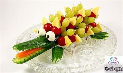 Decorated Kitchen Ideas Top 15 Pretty Fruit Decoration Ideas For Your Kids