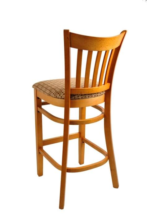 beech bar stools beech vertical back barstool h8242b commercial restaurant