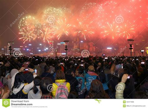 new year fireworks display hong kong 2015 hong kong new year fireworks display 2015