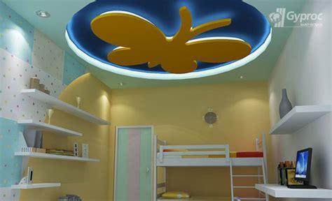 false ceiling designs  kids room saint gobain gyproc