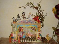 alice in wonderland articulated pap dioramas and theatres on pinterest theatres theater and