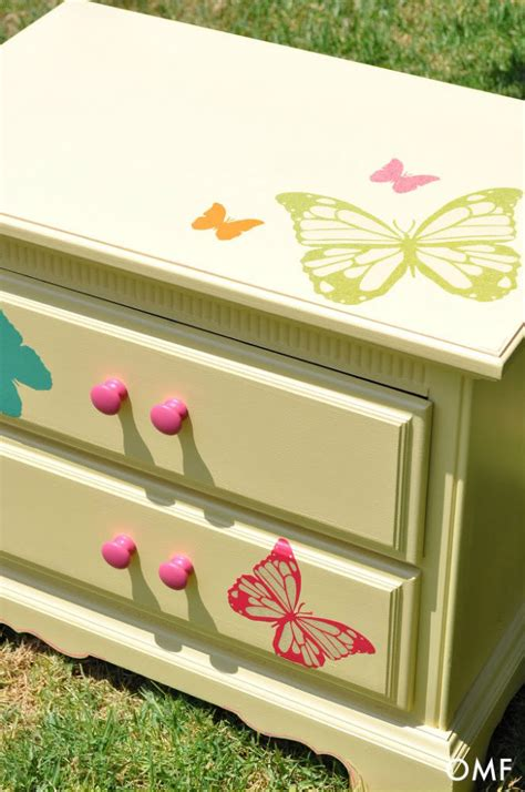 fun furniture painting ideas hometalk painted nightstand for little girls room