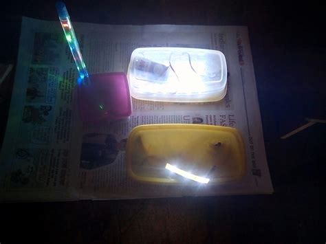 Low Cost Diy Portable Emergency Light Using Led Strips 9 Emergency Led Light Strips