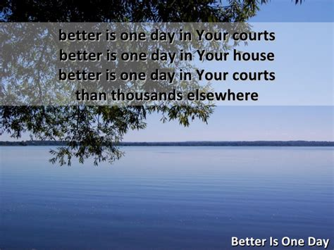 better is one day better is one day