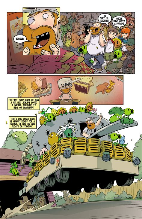 plants vs zombies volume 4 grown sweet home plants vs zombies read free comics plants vs
