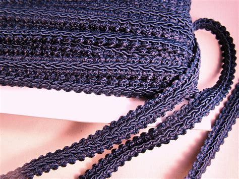 upholstery braid and trimmings navy french gimp braid trim